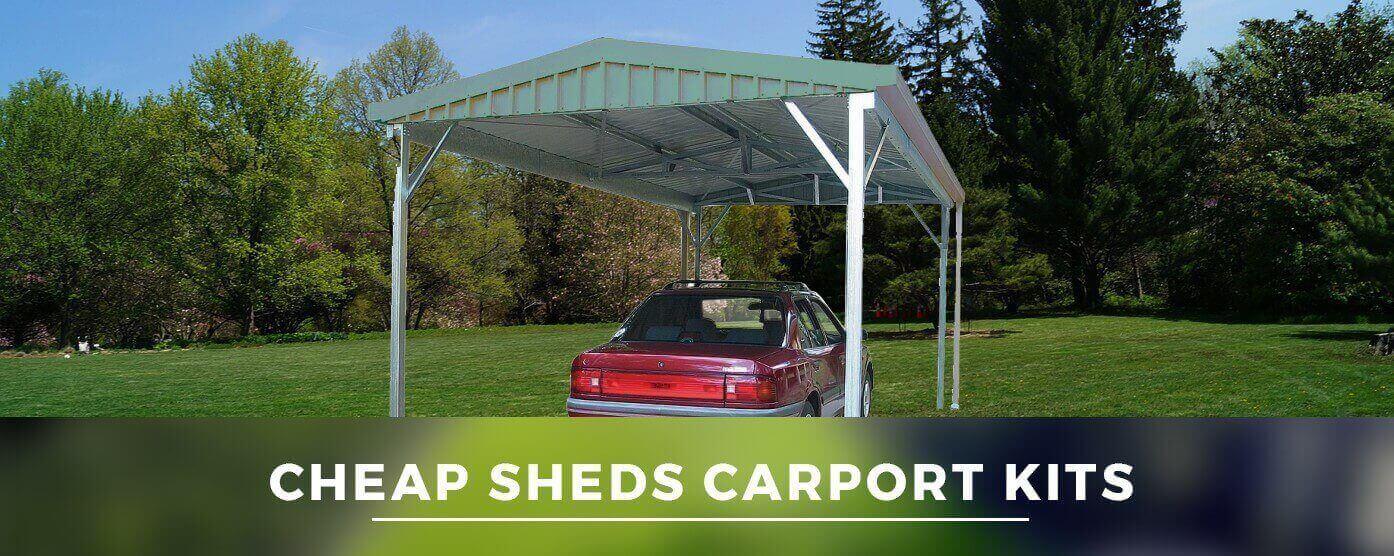 Carports Kits Cheap Sheds